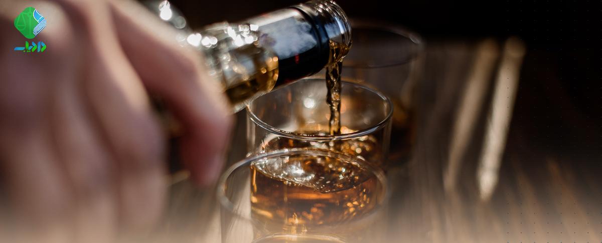 اثبات مصرف مشروبات الکلی